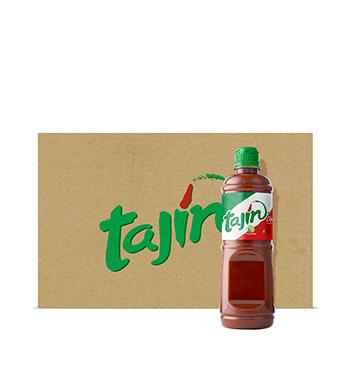 Caja de tajín® - Salsa Líquida Clásico - 12x475ml