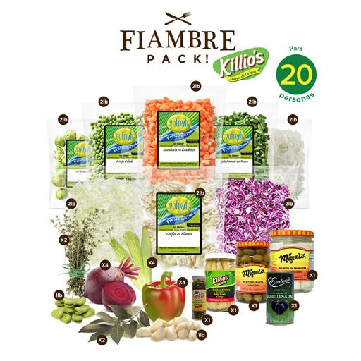 Fiambre Pack! con Killio's® - 20 personas