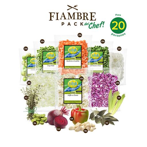Fiambre Pack! del Chef - 20 personas