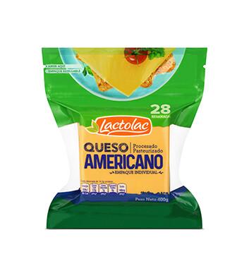 Queso Amarillo Rodajado Lactolac® - 400g