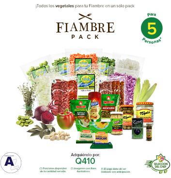 Súper Fiambre Pack! AZ® - 5 personas