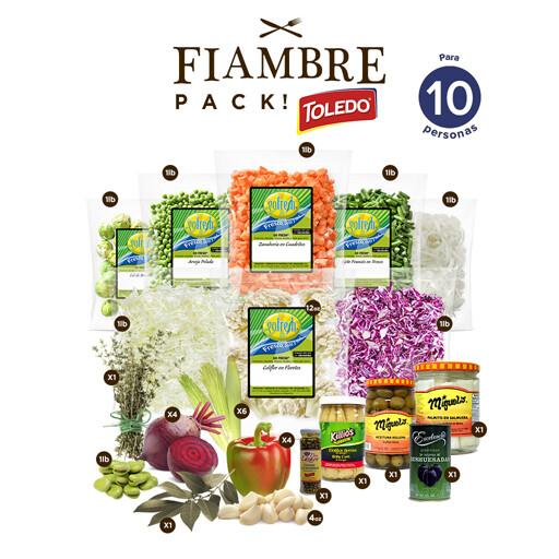 Súper Fiambre Pack! con Toledo® - 10 Personas