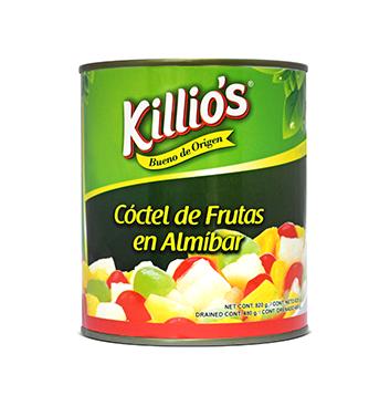 Coctel de Frutas en Almíbar Killio's® - 820 g