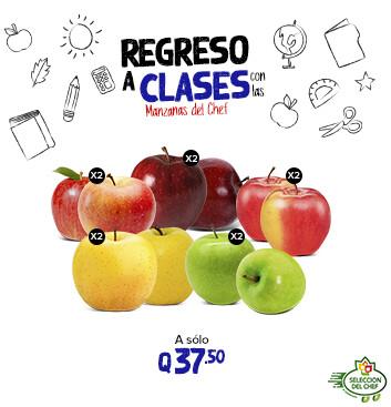 Manzanas del Chef / Regreso a clases