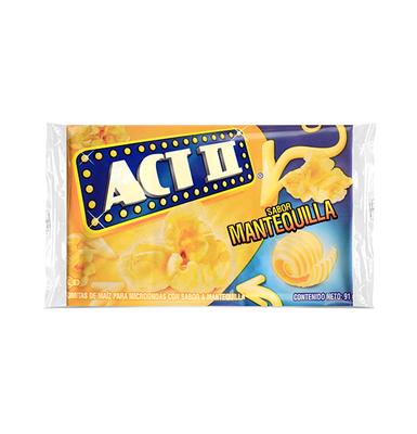 Poporopos ACTII® con Mantequilla - 91g