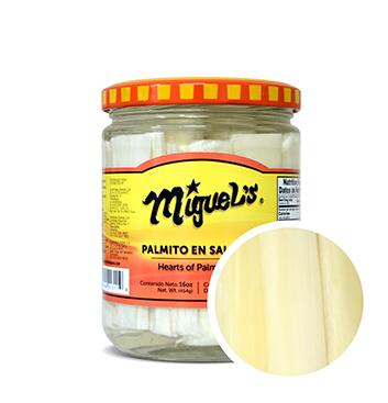 Palmito en Salmuera Miguel's® - 16 Onzas