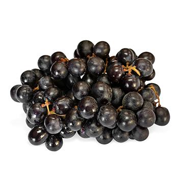 Uva negra sin semillas  - 1 Libra