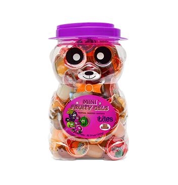 Mini Gelatinas Mini Fruity Gels® Tarro Oso Tropical - 1500g