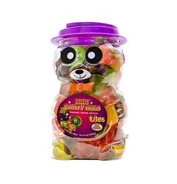 Mini Gelatinas Mini Fruity Gels® Tarro Oso Tradicional - 1500g