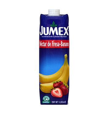 Jugo Jumex® Banano-Fresa Tetrapack - 1 Litro