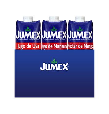 Caja de Jugos Jumex® Sabores Surtidos Tetrapack - 12x1Lt