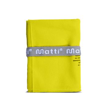 Toalla Matti® Microfibra XS - Color Amarillo