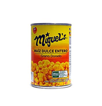 Maíz Dulce Entero Miguel's® - 15 oz