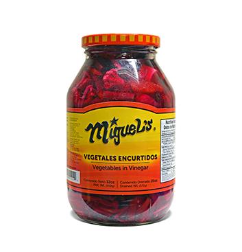 Vegetales Encurtidos Miguel's® - 32 oz
