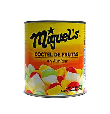 Coctel de Frutas en Almíbar Miguel's® - 820 g