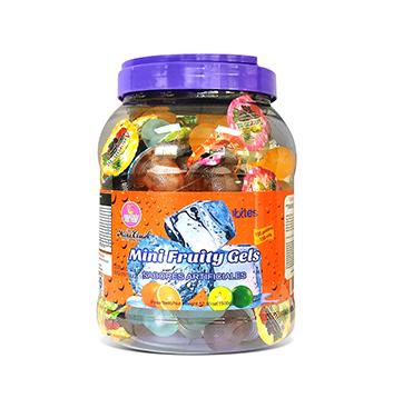 Mini Gelatinas Mini Fruity Gels® Tarro Redondo Soda - 1500g
