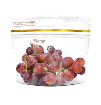 Uva Red Globe con semillas - 1 Libra