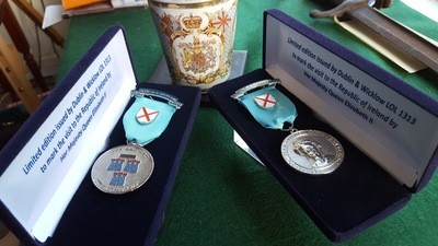 H.M Queen Elizabeth II Visit to Dublin and the Kingdom of Ireland Jewel