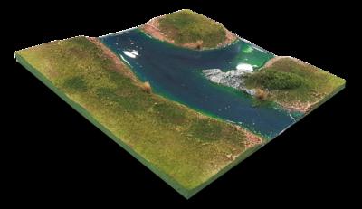 River Fork (Extra Tile)