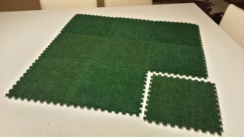 Modular Grass Gaming Board - 3'x3' Jigsaw Tiles