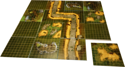 Outdoors Modular Gaming Board (90 x 90 cm)