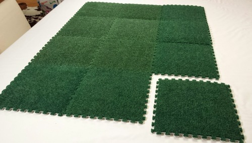 Modular Grass Gaming Board - 4'x4' Jigsaw Tiles