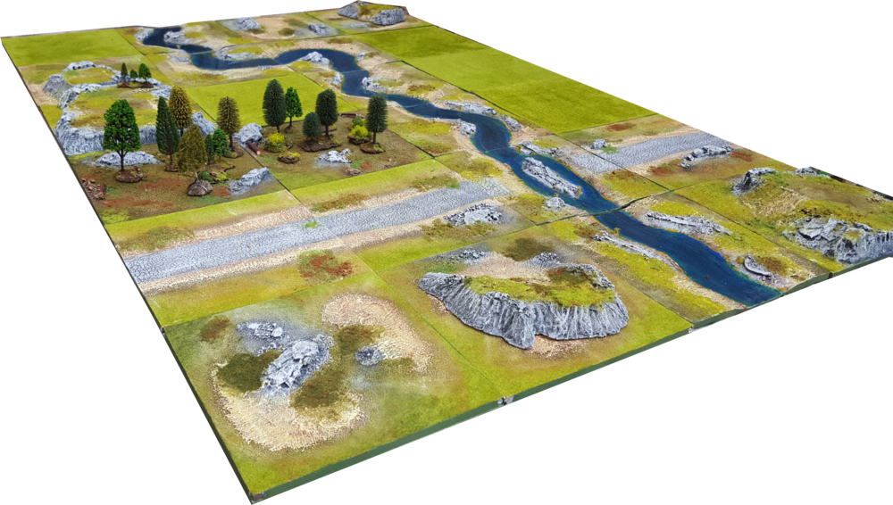 6'x4' ULTRA Battlefield Set