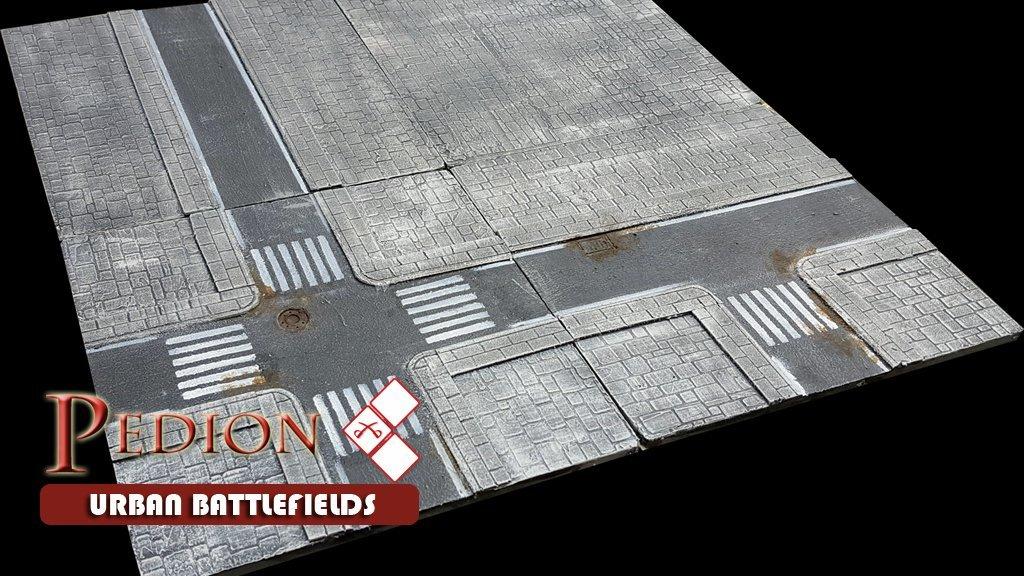 """""""Village"""" 2'x2' Urban Battlefield Set - Kickstarter Preorder"""
