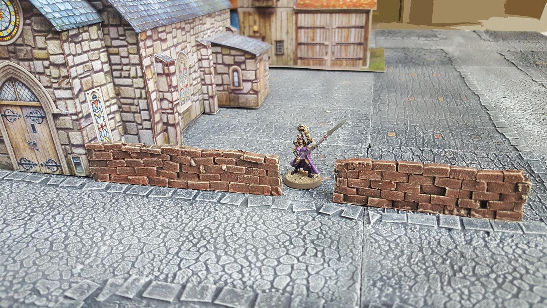 Large Brick Walls, Set of 2