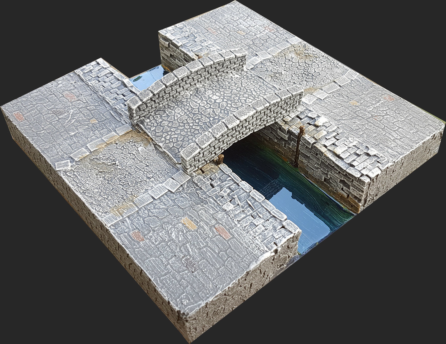 Stone Bridge (for Medieval Themed Canals)
