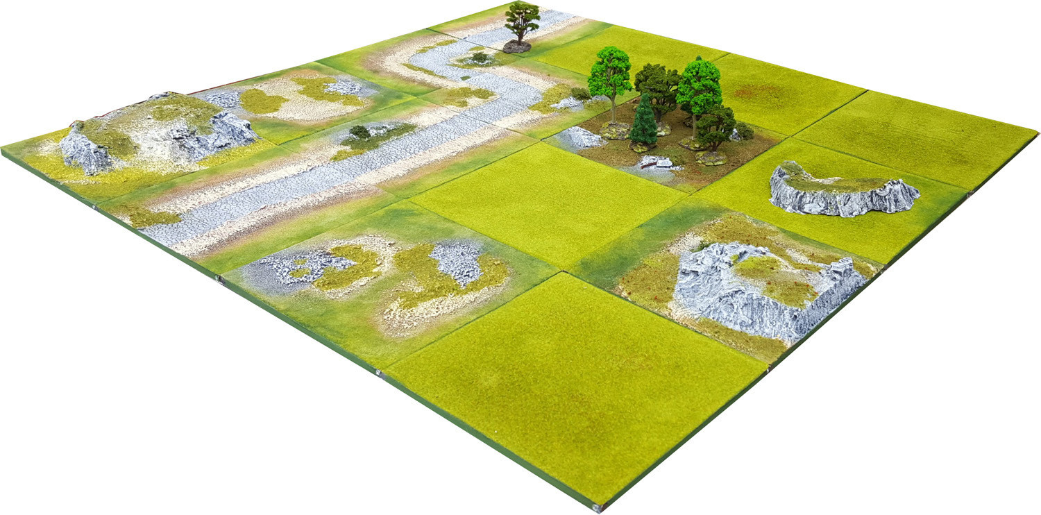 4'x4' FOREST VALLEY Battlefield Set - Kickstarter pledge