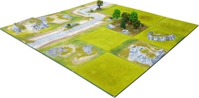 4'x4' FOREST VALLEY Battlefield Set - Kickstarter pledge