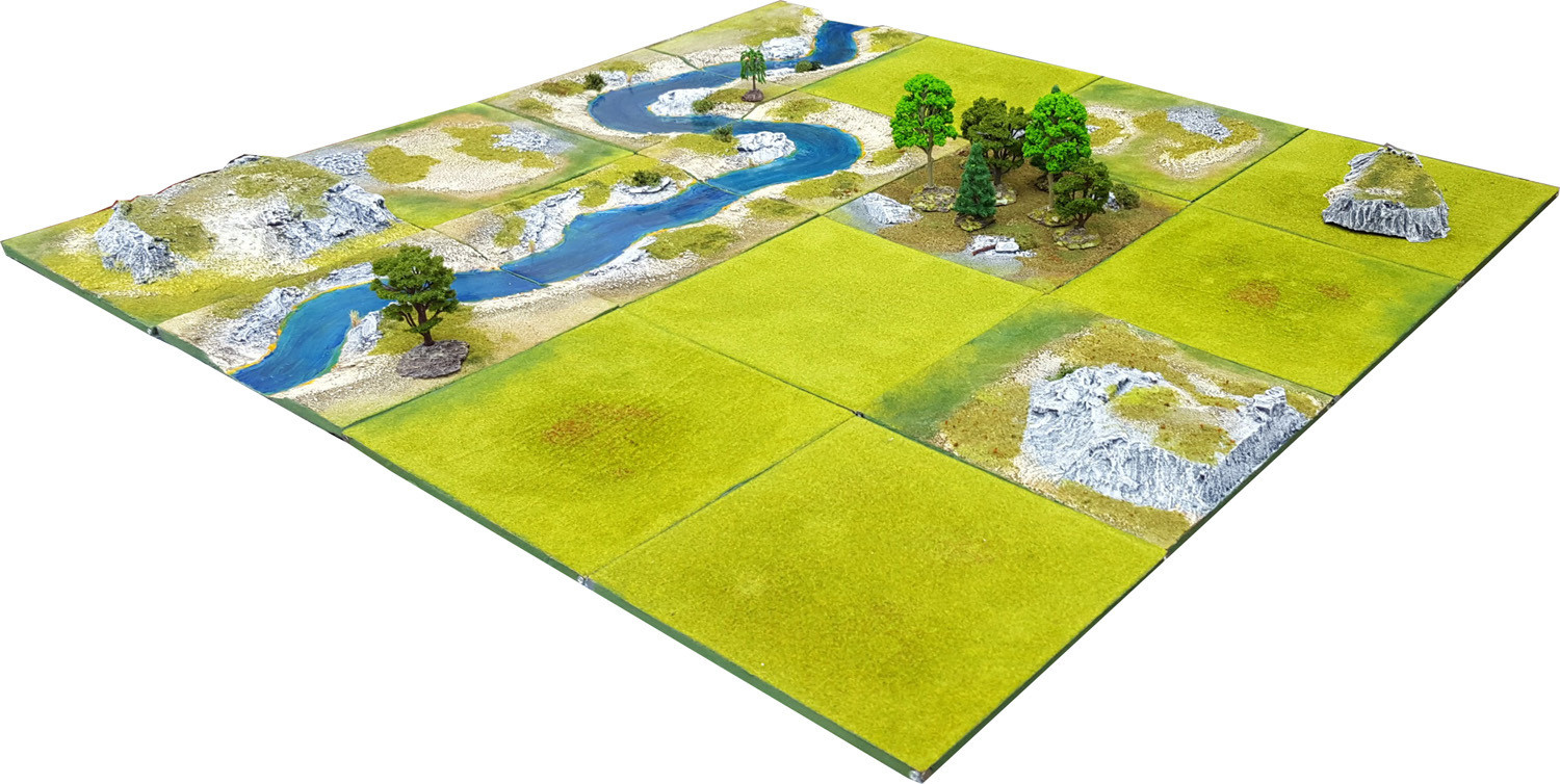 4'x4' RIVER VALLEY Battlefield Set - Kickstarter pledge