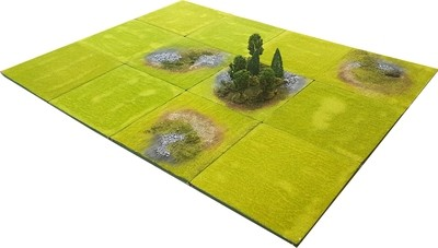 4'x3' SAGA Battlefield Set