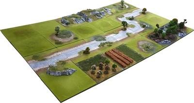 6'x4' STANDARD Battlefield Set