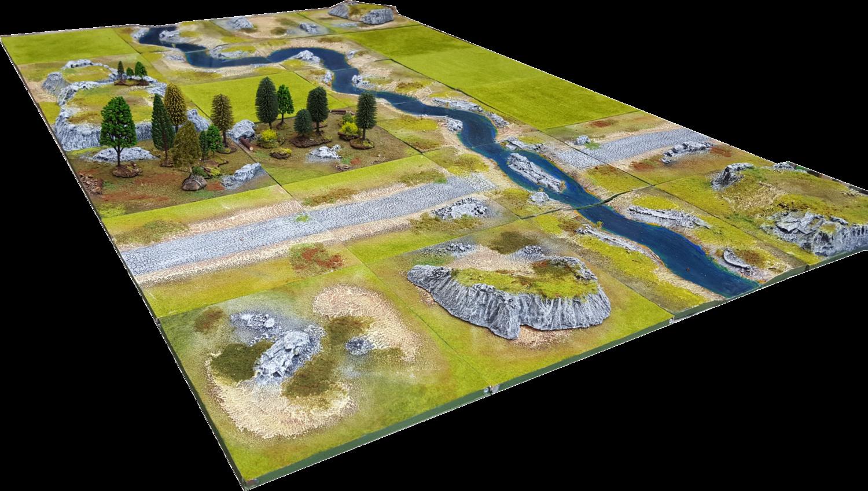 6'x4' ULTRA Battlefield Set