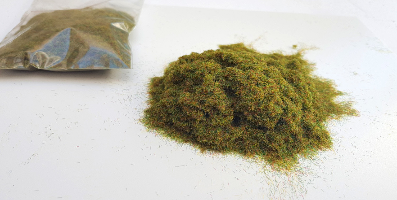 Green Spring DARK mix Static Grass 10gr (100ml)