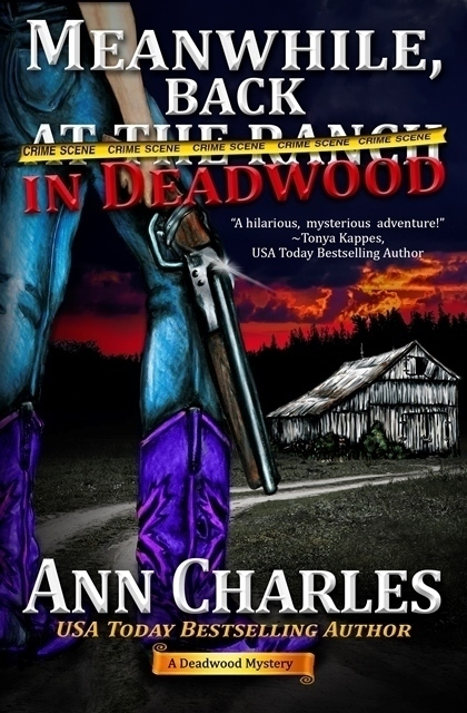 Deadwood Mystery Series By Ann Charles Book 6 AUTOGRAPHED And Includes Free Chocolate