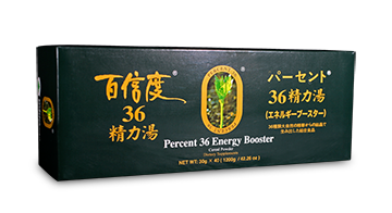Percent 36 Energy Booster (30gx40bags)