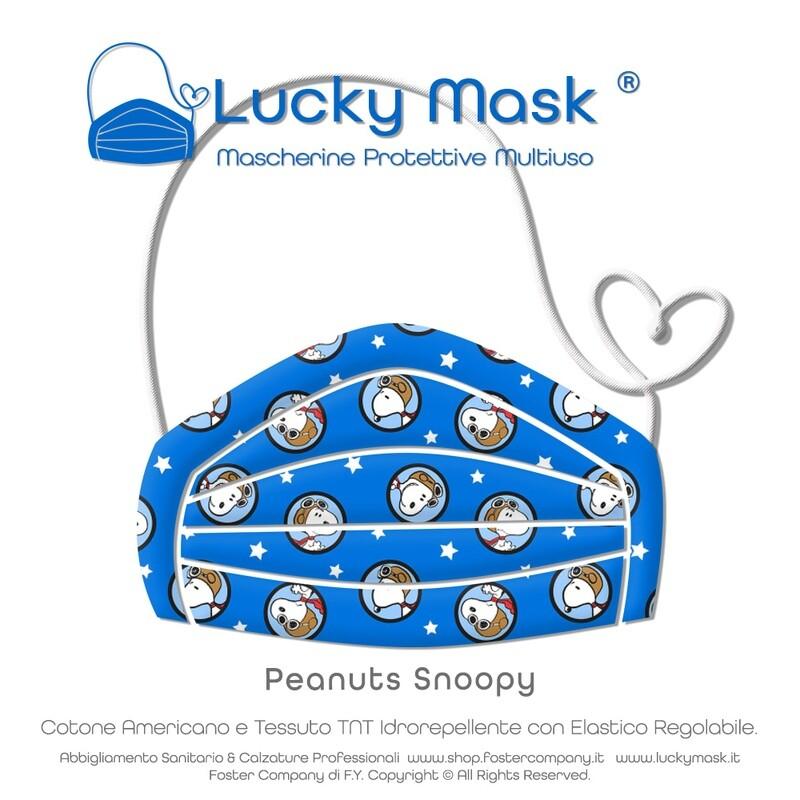 Mascherina Protettiva Multiuso LUCKY MASK