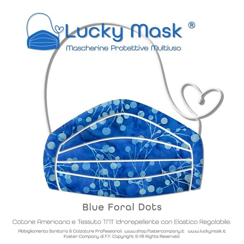 Mascherina Protettiva Lavabile Multiuso LUCKY MASK