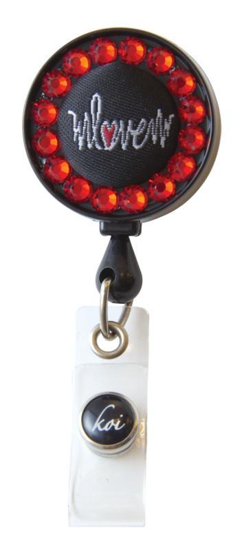 Accessori Koi Porta Badge Heartbeat