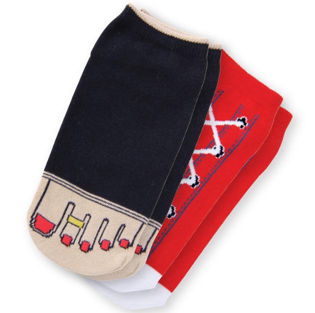 Accessori Koi Calzini Francy Feet Chili Red