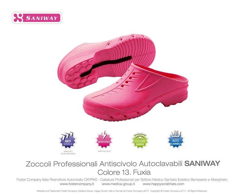 Zoccoli Professionali Oxypas SANIWAY * ULTIME PAIA-EXTRA SCONTO *