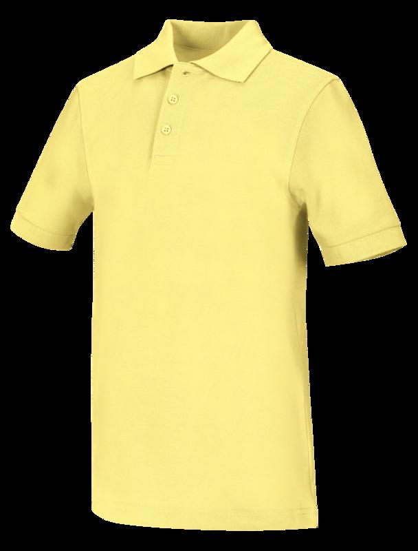 Polo Code Happy 58324 Unisex Colore Yellow