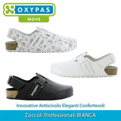 diversamente estremamente unico codice coupon Zoccoli Professionali Sanitari Scarpe da Lavoro BIANCA