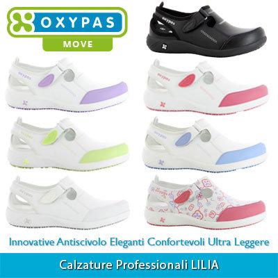 miglior sito web d8095 60ba4 Calzature Professionali Scarpe da Lavoro OXYPAS LILIA