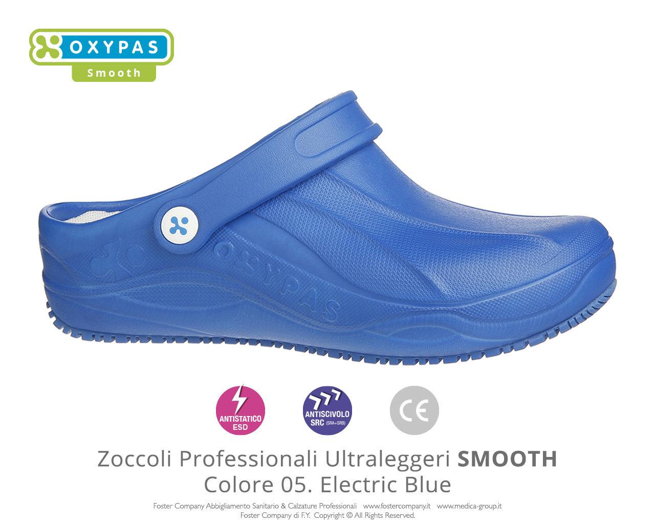 190bdf0e914ce Zoccoli Professionali Sanitari Scarpe da Lavoro SMOOTH