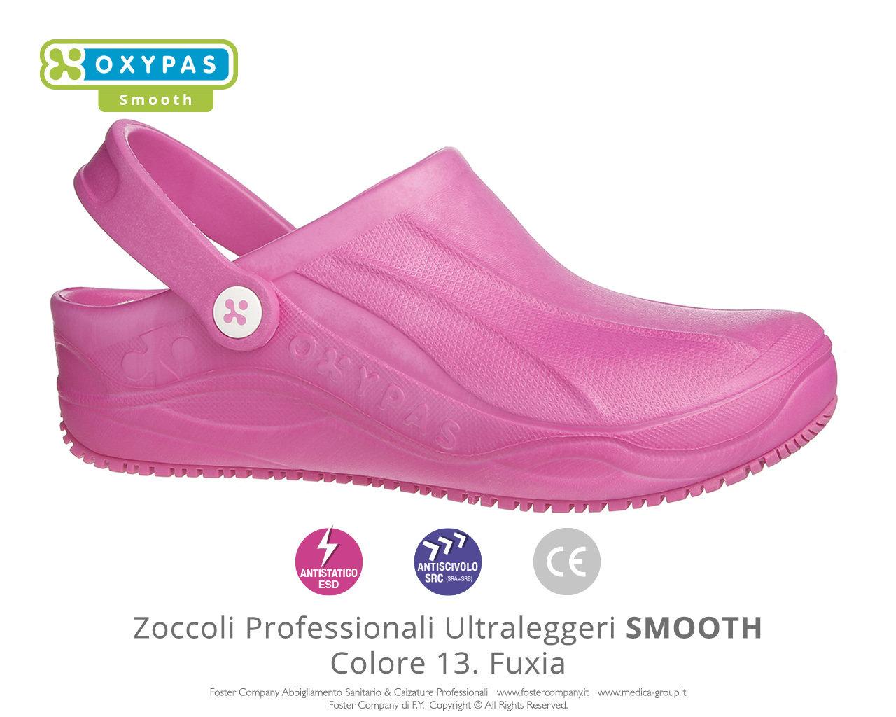 bellissimo aspetto prezzi gamma completa di specifiche Zoccoli Professionali Sanitari Scarpe da Lavoro SMOOTH