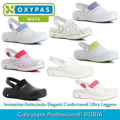 selezione premium d3b01 e0b55 Zoccoli Professionali Sanitari Scarpe da Lavoro DORIA